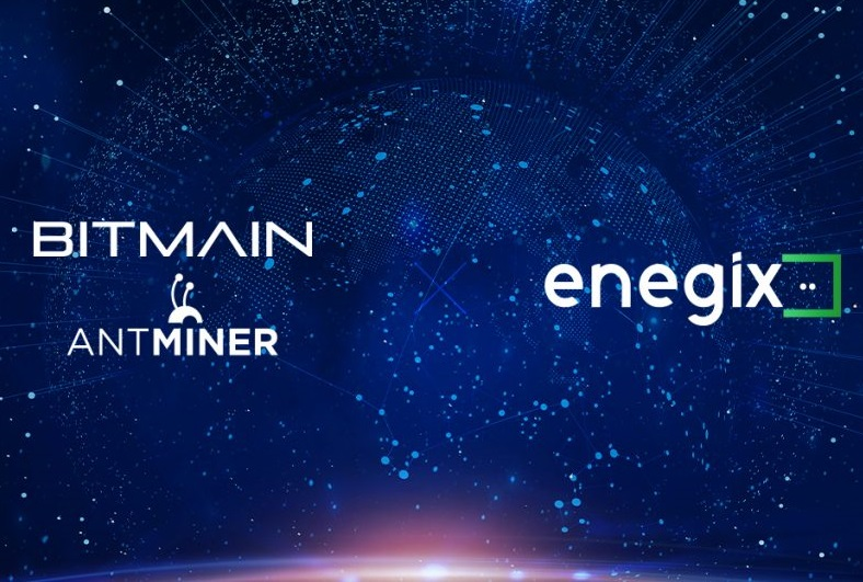 Bitmain Signs Agreement with ENEGIX to Host Miners at the 180MW facility
